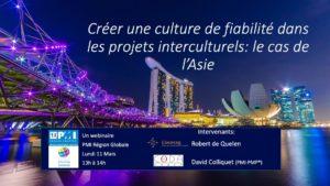 Conférence management de projets en Asie